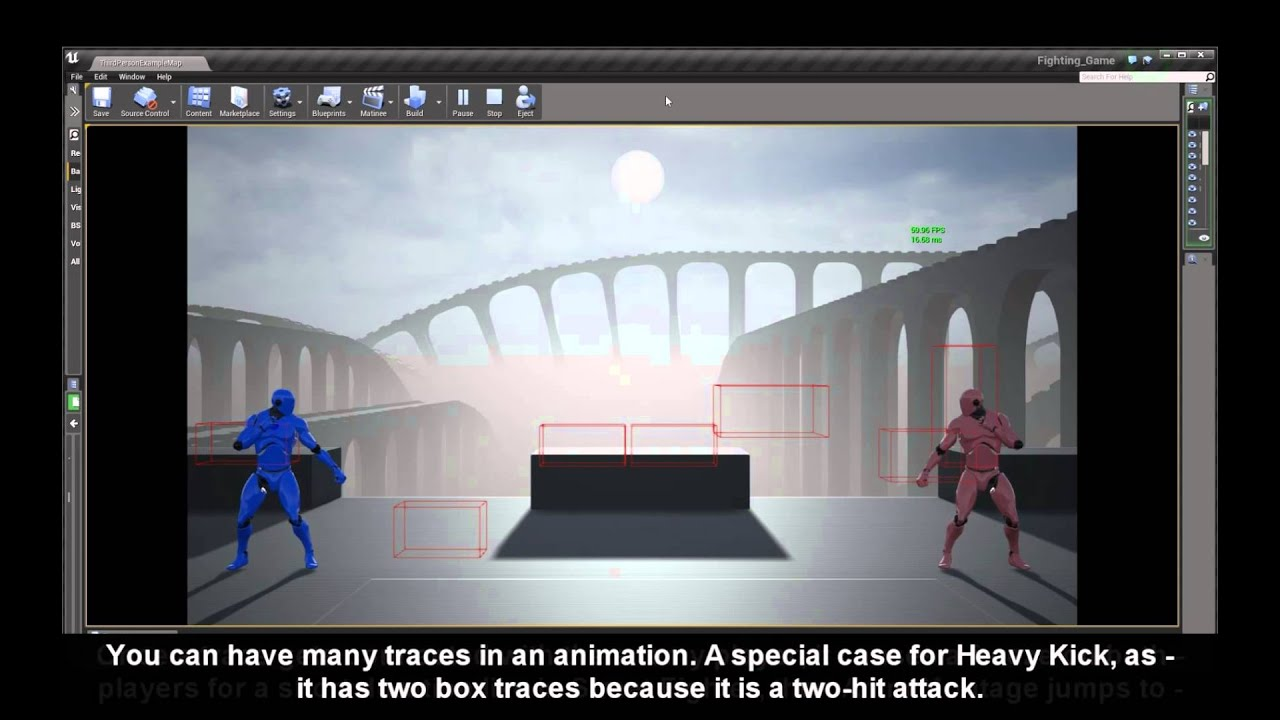 Unreal 4 Fighting Game Template - Combat Progress - - YouTube