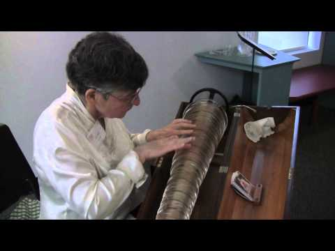 Vera Meyer Plays the Glass Armonica