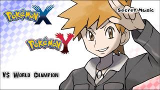 Pokémon X/Y - Vs World Championship Finals Music HD (Official)