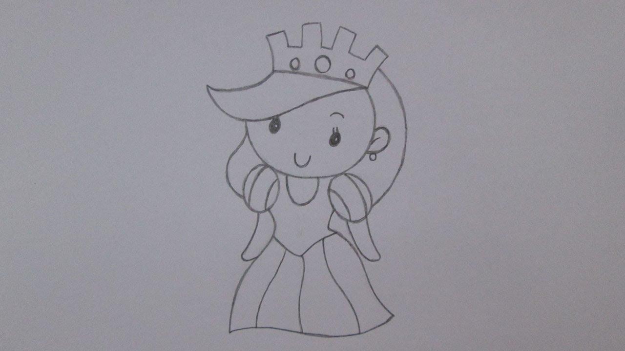 Como Desenhar Uma Rainha