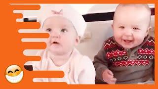 Funny Baby Family Moments  -  Happy Baby Family