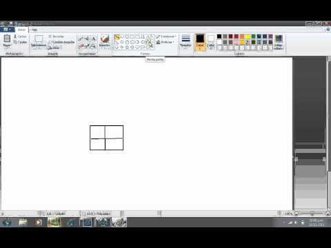 como hacer dibujos 3d en paintpor kevin  YouTube