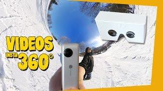 VIDEOS DE VIAJES Y REALIDAD VIRTUAL - INSTA 360 NANO VR REVIEW, UNBOXING