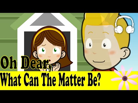 Oh Dear, What Can The Matter Be? | Family Sing Along - Muffin Songs