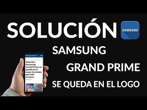 ¿Por Qué mi Samsung Grand Prime se Queda en el Logo?