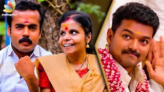 Cover images Singing in Theri Was a Blessing For Us : Vaikom Vijayalakshmi & Husband Interview | En Jeevan Song