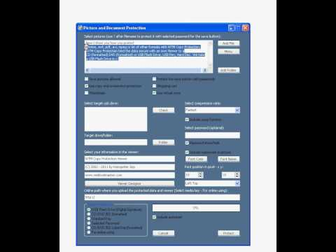 Protect Your Own Videos (AVI, MPEG, MP3) And Other Files With WTM Copy Protection Tutorial