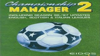 Championship Manager 96/97 gameplay (PC Game, 1996)