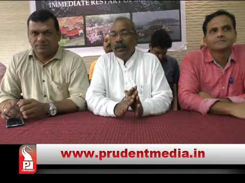 GMPF TO MEET UNION MINISTERS AGAIN FOR RESUMING MINING IN GOA _Prudent Media Goa