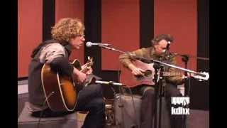 "Mark Olson and Gary Louris ""Black Eyes"" Live at KDHX 2/17/09"