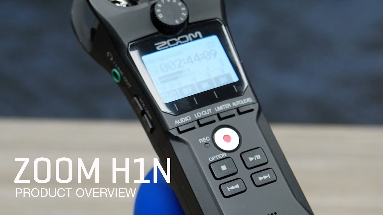 Zoom H1n Product Overview - Hi everyone, this is John from Zoom and I'm here to introduce you to our new H1n handy recorder.
