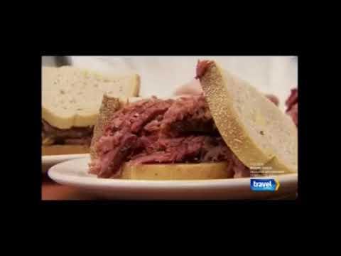 Montréal en vedette sur Travel Channel avec Andrew Zimmern- U.S. Cable Bizarre Foods