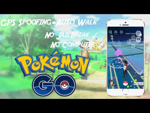 Pokemon Go GPS spoofing (No jailbreak/computer)Auto walk+teleport