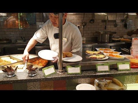 Едим в ресторане Грабли: Ужин за 6$! Где поесть в центре Москвы?