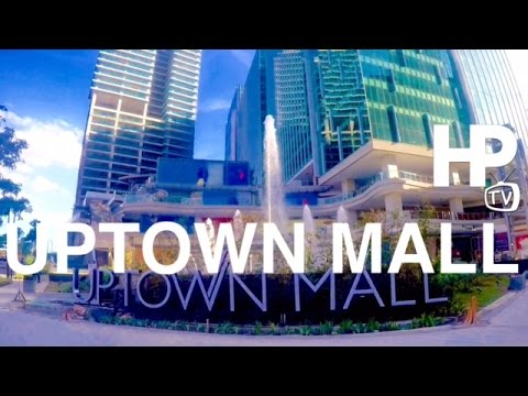 Uptown Mall Walking Tour Overview Bonifacio Global City Now Open Taguig by HourPhilippines.com