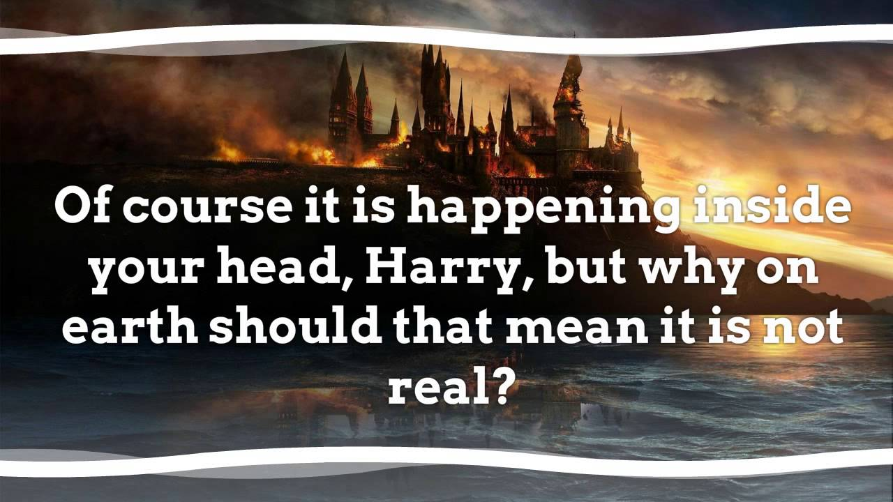 Harry Potter Quotes Harry Potter Best Quotes Youtube