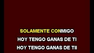 Ricardo Montaner - Hoy tengo ganas de ti.KARAOKE