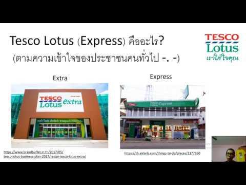 แบ่งปันประสบการณ์ การทำงานPart-time Tesco Lotus Express
