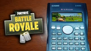 HOW TO PLAY FORTNITE IN A CALCULATOR (It Really Works!)