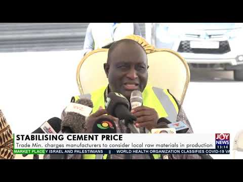 Stabilizing Cement Price - The Market Place on Joy News(11-5-21)