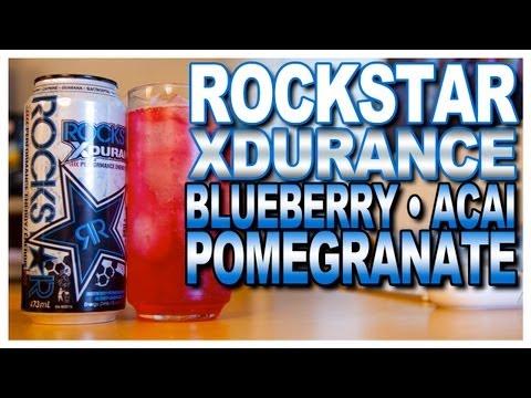 NEW! Rockstar XDurance Blueberry • Pomegranate • Acai