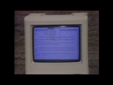 30 Years Ago, Apple's First Computer