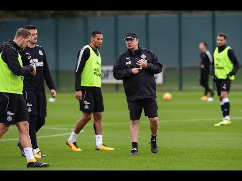 Newcastle United | Training with a difference