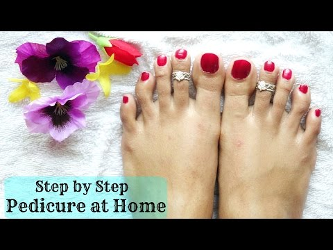 How To Do Pedicure At Home | Step By Step Procedure | SensationalSupriya