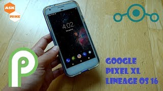 Flash Lineage OS 16 Google Pixel XL Android Pie