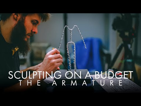 Sculpting On A Budget - The Armature