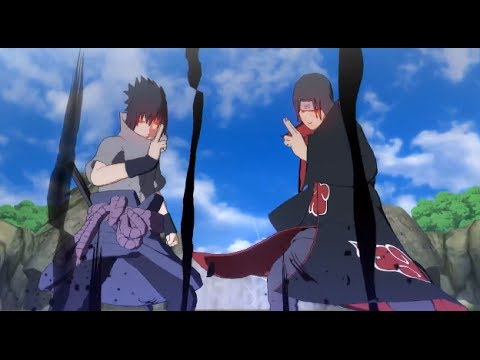 Naruto Ultimate Ninja Storm Revolution: Itachi and Sasuke ...