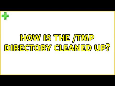 Ubuntu: How is the /tmp directory cleaned up?