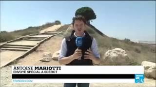 Israël : à Sdérot, unee tombe près d'Israéliens