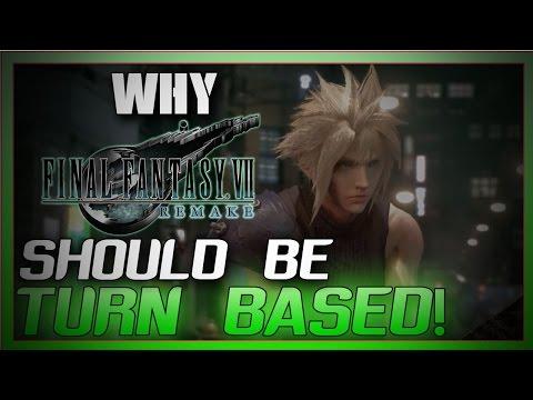 Why Final Fantasy VII Remake Should be Turn Based ft Aliahsan Shadicstick~