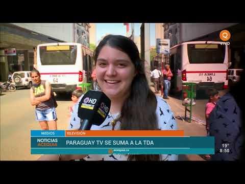 Paraguay TV se suma a la TDA