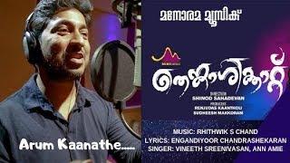 Aarum Kanathe | Thenkasikkattu | Vineeth Sreenivasan | Aan Amie | Santhosh Varma | Ritwik S Chand