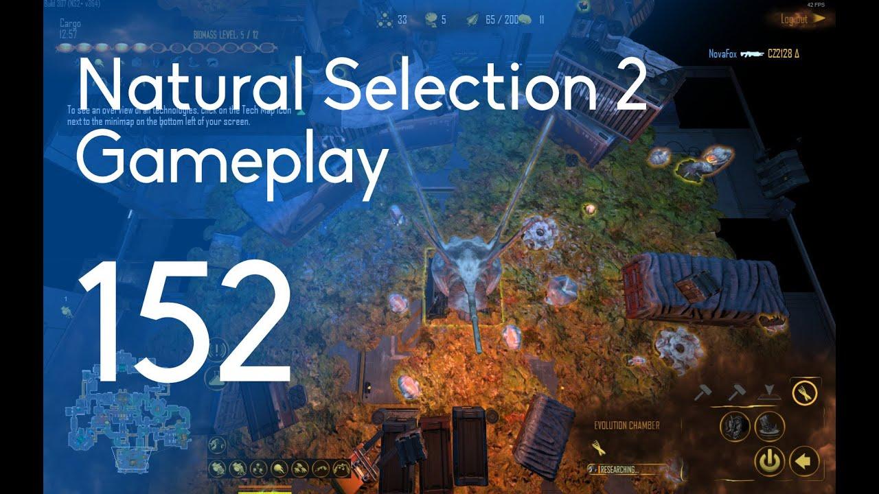 Natural Selection  Commander Gameplay