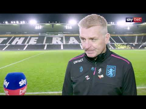 Aston Villa beat Derby 3-0 | We caught up with Dean Smith