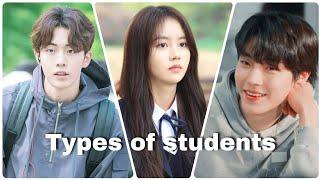 K-drama : Types of students