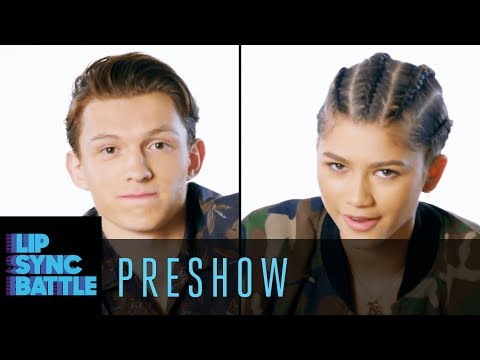 Spider-Man: Homecoming's Tom Holland & Zendaya  Interview   Lip Sync Battle Preshow