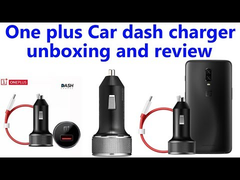 Hindi || One plus Car dash charger unboxing and review