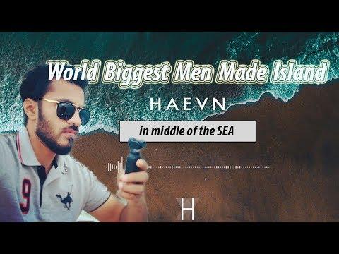 World biggest A Men Made Island Palm Jumeirah Dubai, UAE