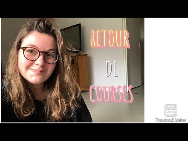 RETOUR DE COURSES