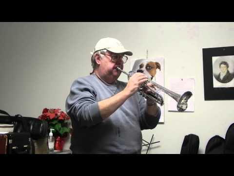 Getzen Capri 590S Silver Trumpet Product Demo