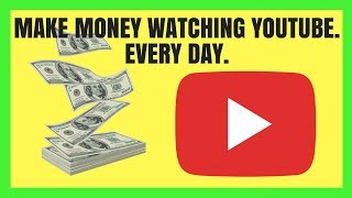 MAKE EASY MONEY WATCHING YOUTUBE VIDEOS IN 2017 (Tips & Tricks Included)