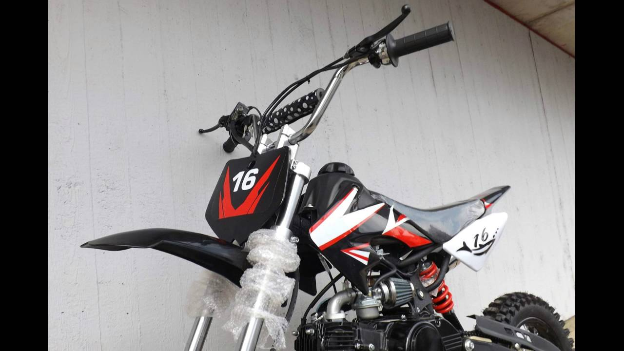 crossbike pitbike dirtbike 125ccm kinder cross motocross. Black Bedroom Furniture Sets. Home Design Ideas