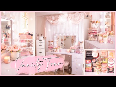 Vanity Room Tour & Makeup Collection 2020