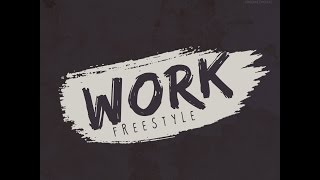 Burnaboy | Work [Cover - Lyric Video] | Freeme TV