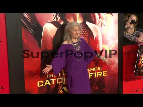 Lynn Cohen at 'The Hunger Games: Catching Fire' Los Angel...