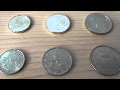 All euro coins of Italy - Alle Euro Münzen aus Italien in HD